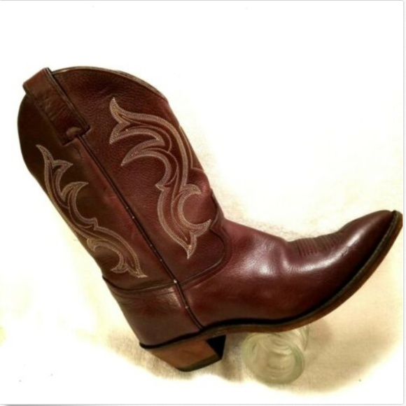 4f10efb01bfc8 Justin Boots Shoes | Justin Womens Western Boots Classic Ropers Sz ...